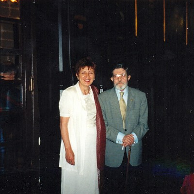 2000. Con Rafael Montesinos, Madrid
